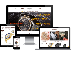 Joomla Templates: Watches Shop - Virtuemart Joomla template