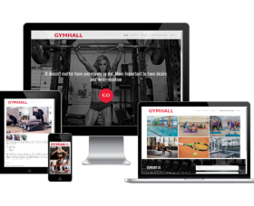 Joomla Templates: Gym Hall - Joomla Sport template