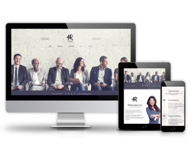 Joomla Templates: Human Resource Management - Joomla recruitment template