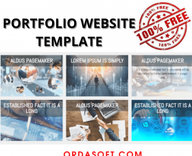 Marina Joomla Template: Free Portfolio Website Template - Section
