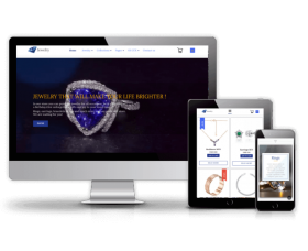 Joomla Templates: Jewelry - Joomla eCommerce template