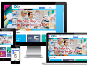 Joomla Templates: Drugstore - Joomla Pharmacy template