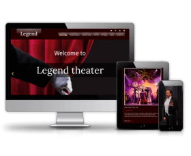 Joomla Templates: Legend - Event Joomla Template