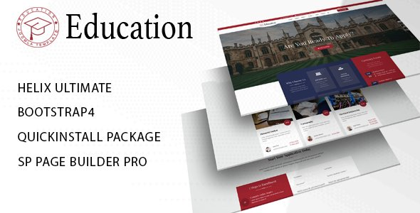 Joomla Template: Education