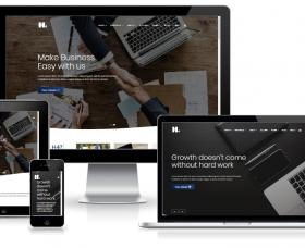 WebKomp Joomla Template: H4