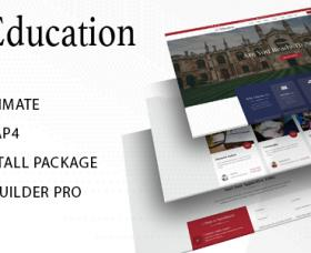 Joomla Templates: Education