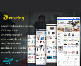 Opencart Free Template - Responsive Opencart 3 Theme